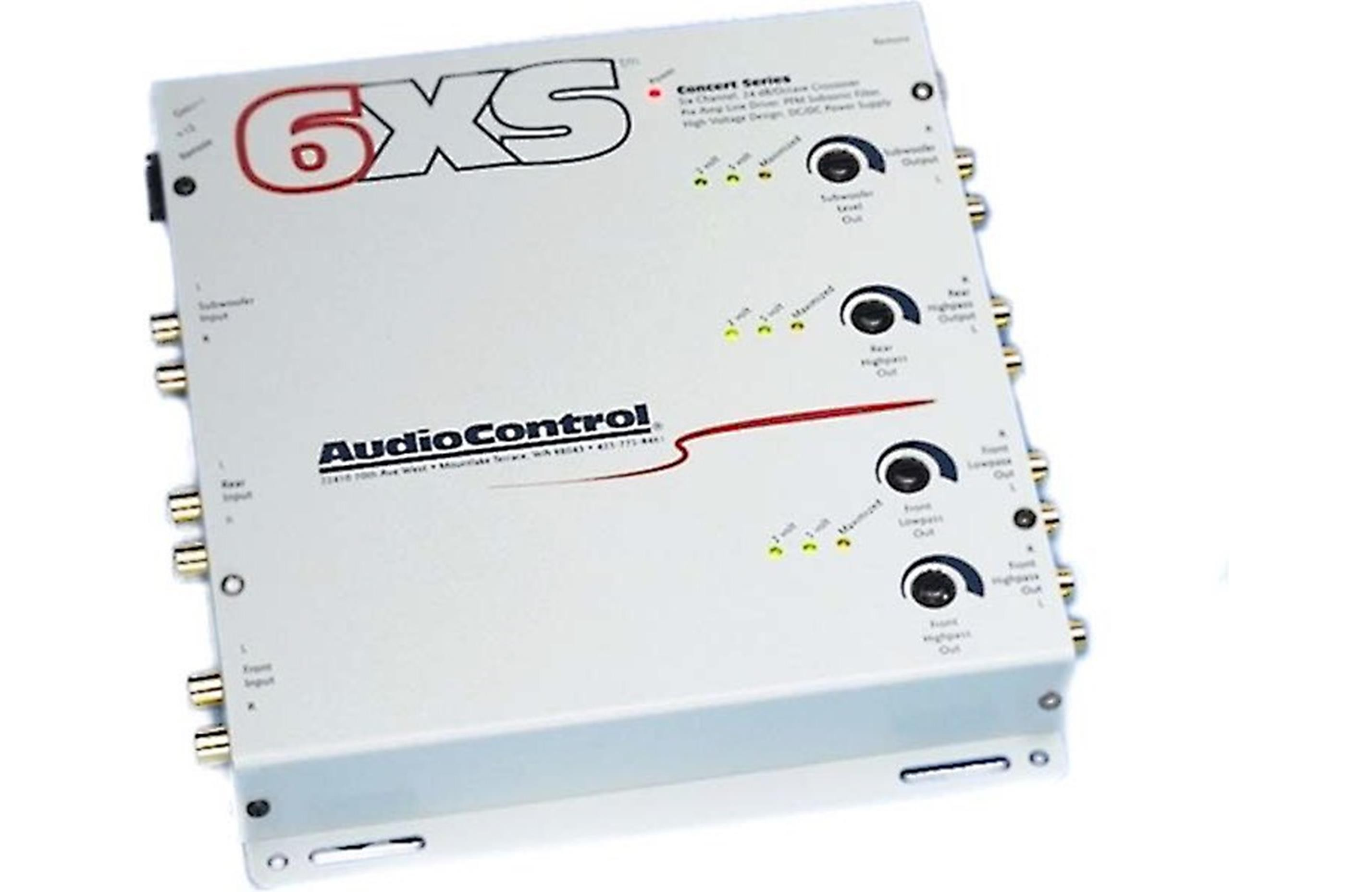 Audiocontrol 6XS (Sierra White)