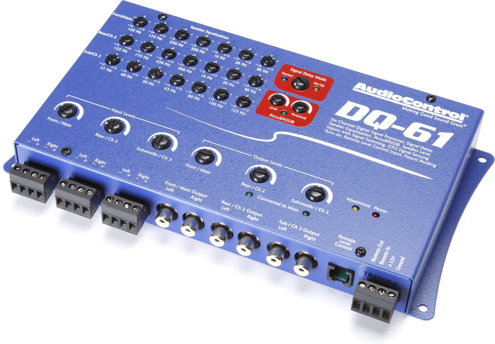 Audiocontrol DQ-61 (Cascade Blue)