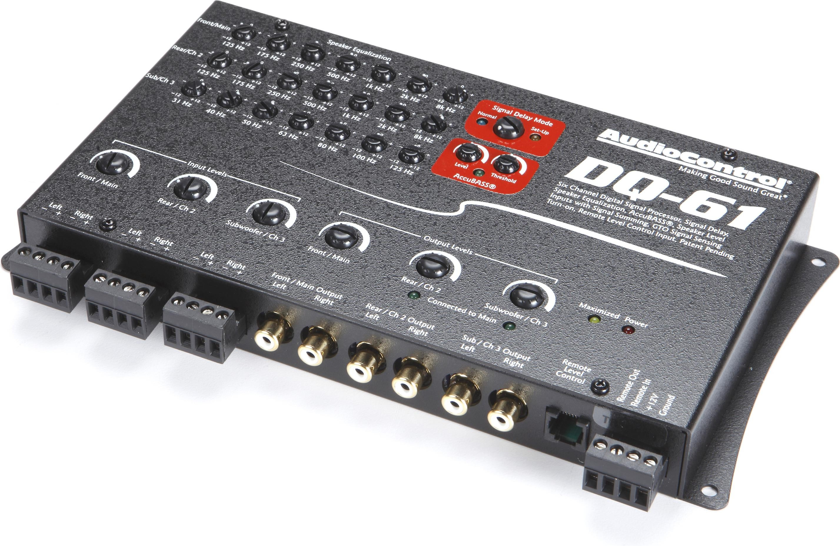 Audiocontrol DQ-61 (Espresso Black)