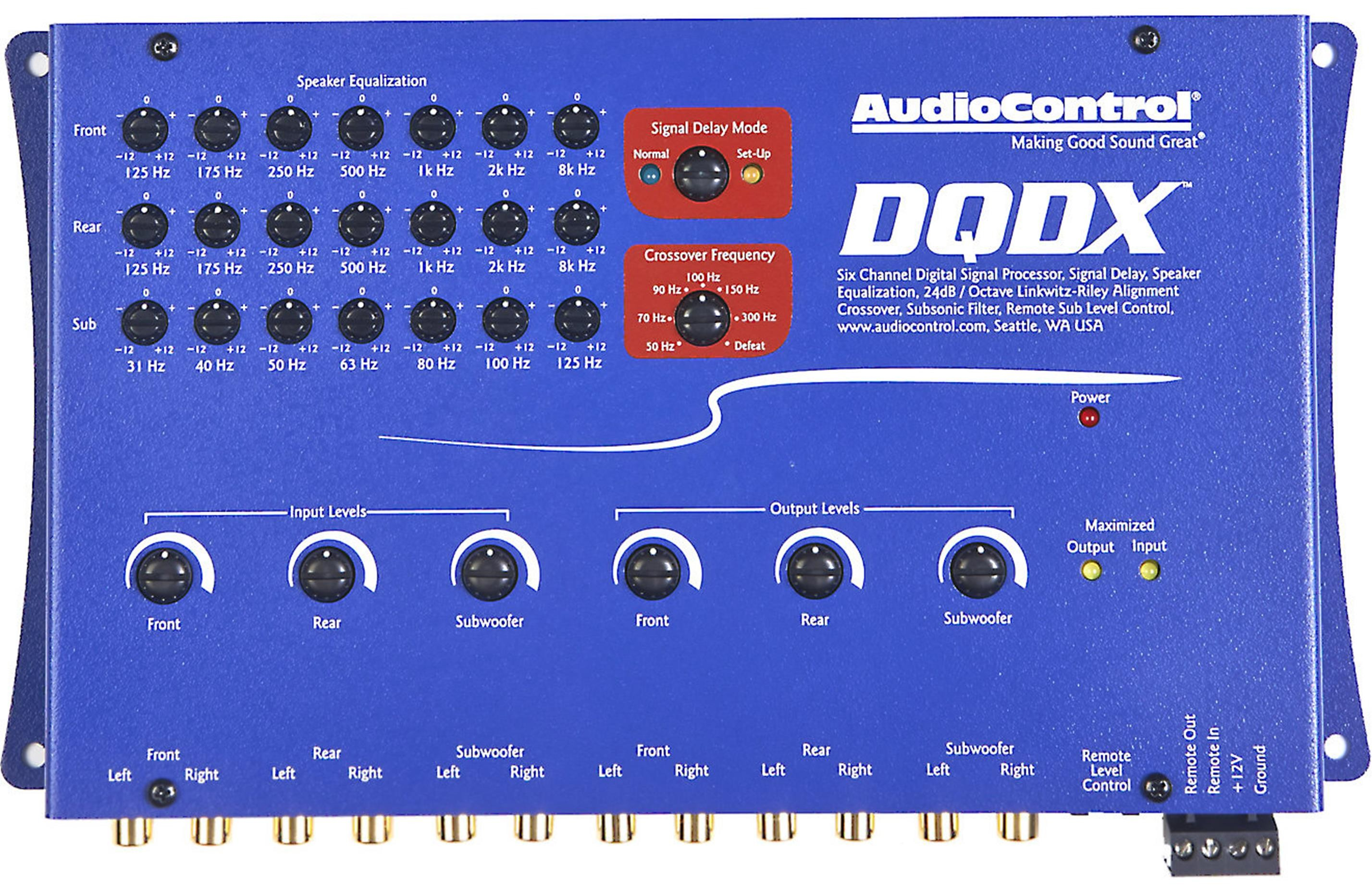 Audiocontrol DQDX (Blue)