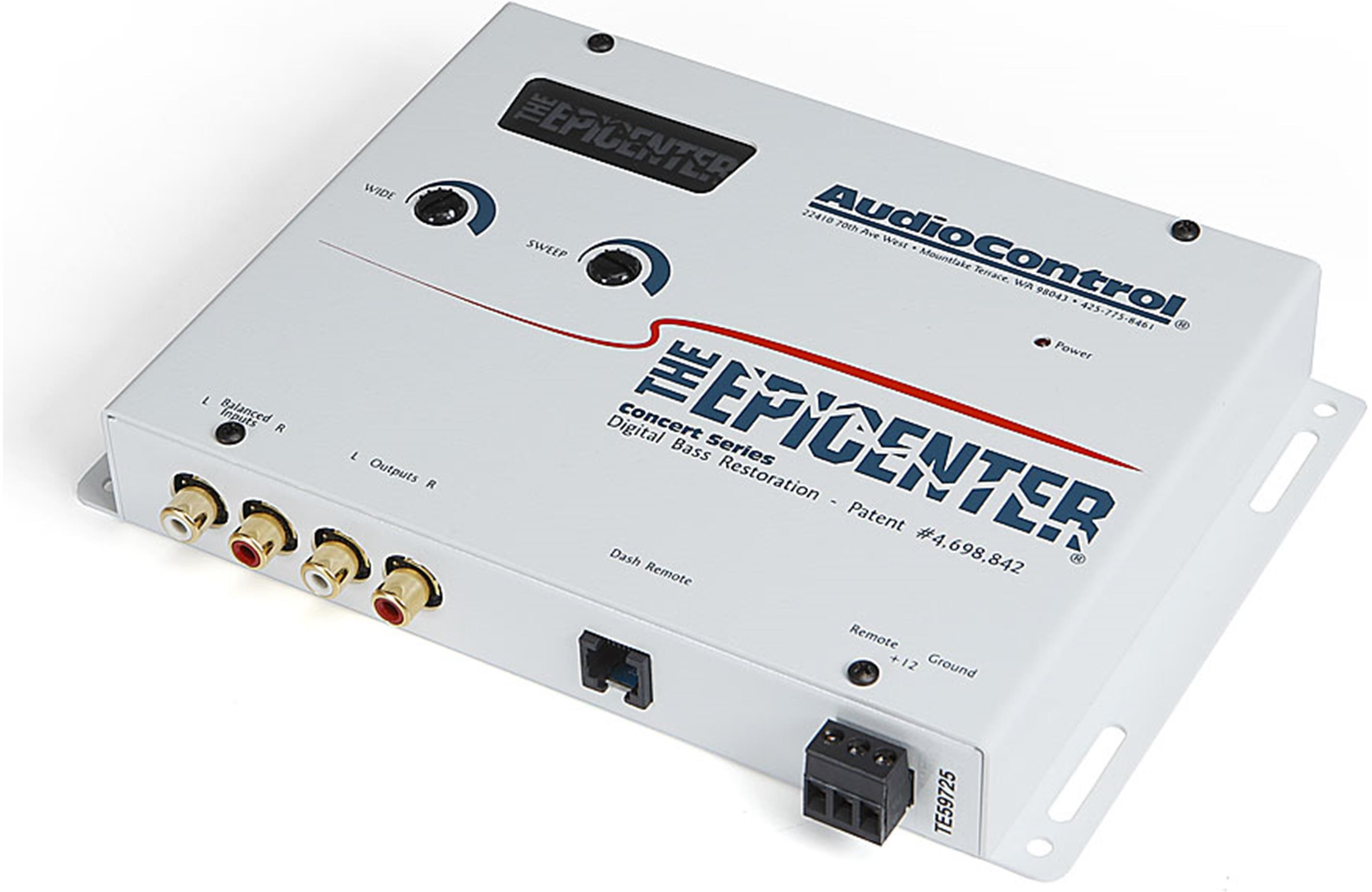 Audiocontrol EPICENTER (Sierra White)