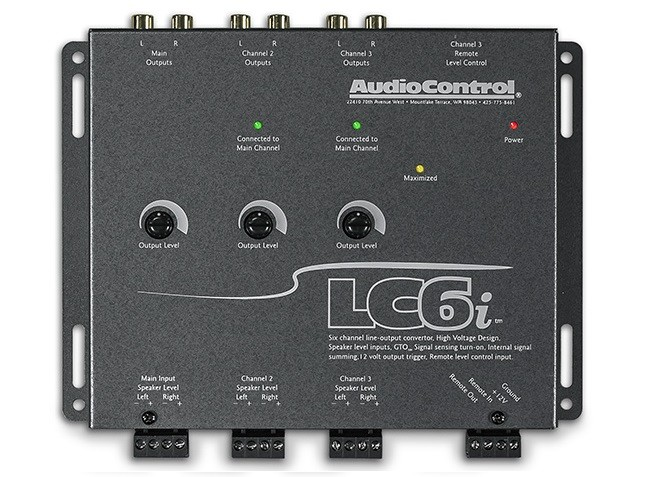 Audiocontrol LC6i (Salmon Gray)