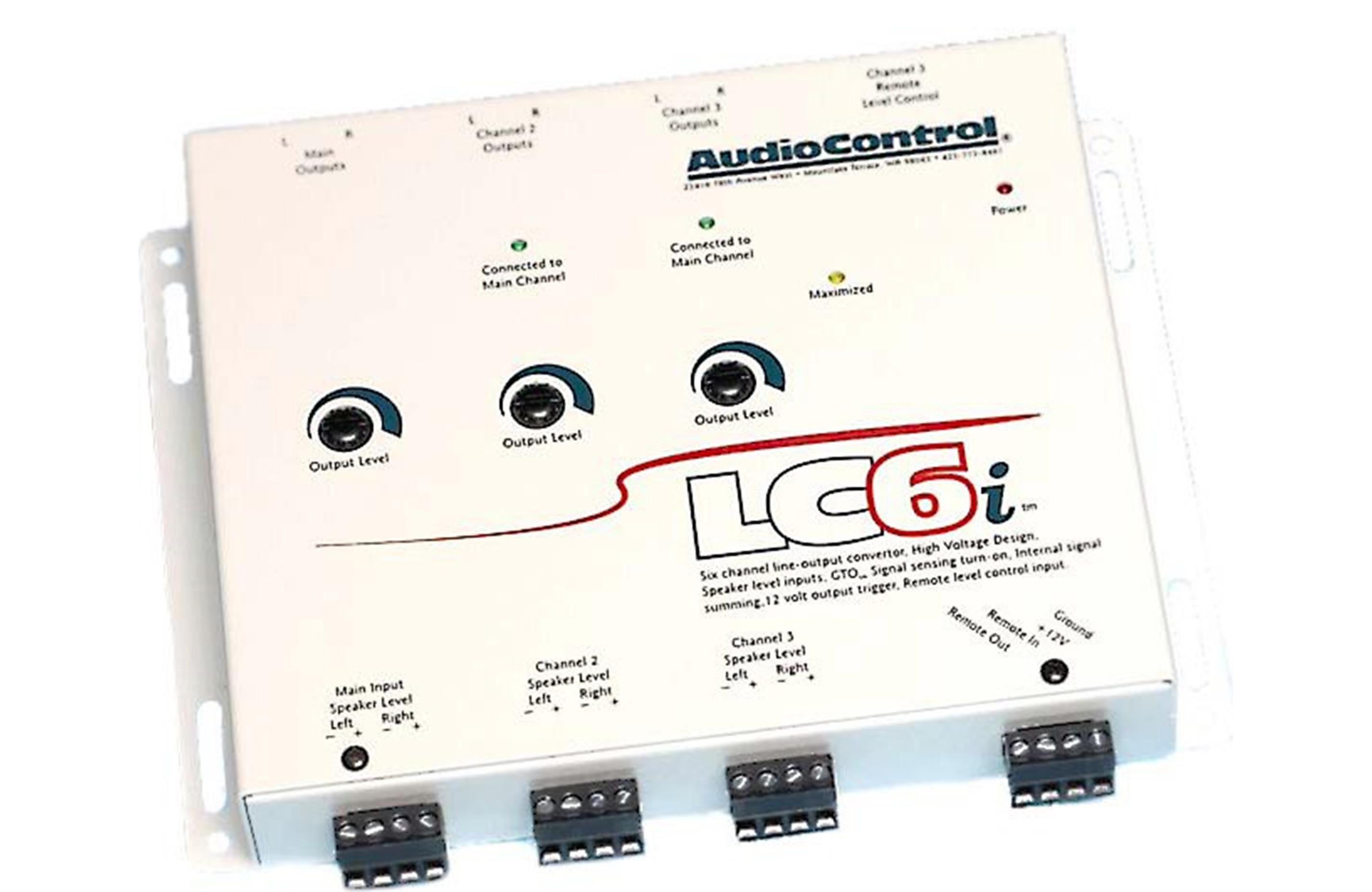 Audiocontrol LC6i (Sierra White)